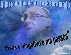 Incredulidade de Saramago