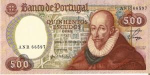 Francisco Sanches 500 escudos