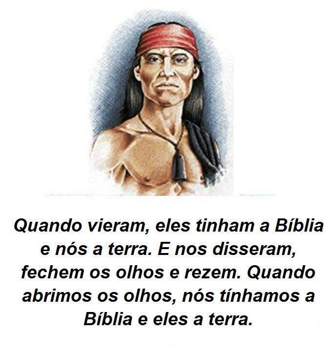 biblia e indio